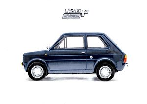 POPCULTURAL ICON OF POLAND -FIAT 126