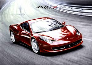 GREAT FERRARI 458