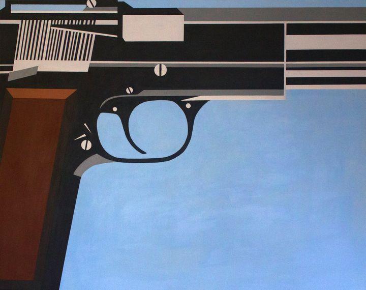 Blue Gun - Jackie Warner