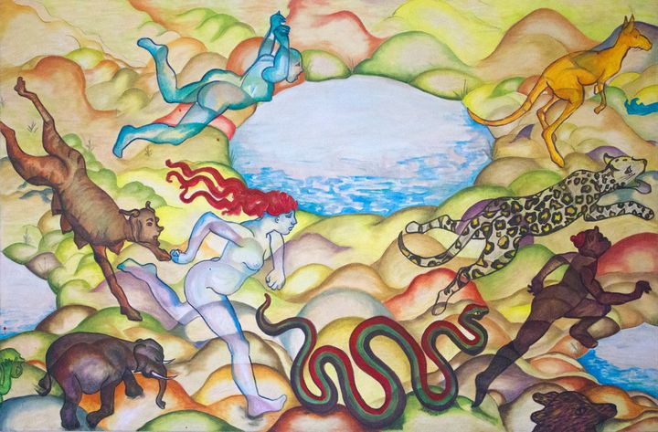 Eve Running from the Garden of Eden - Jackie Warner