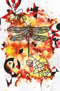 Dragonfly fire