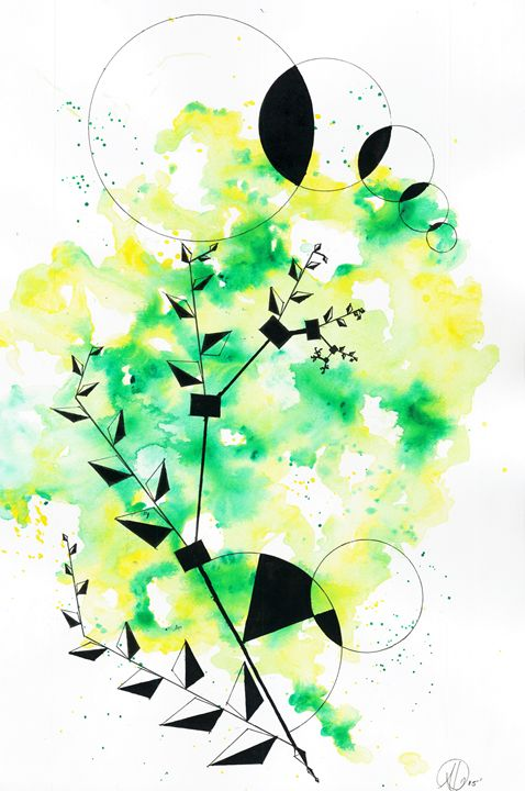 Greenery - Divine Fractal
