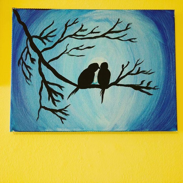 Night birds... - Amrita