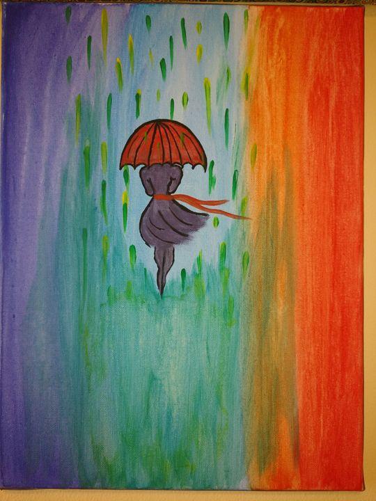 Acrylic painting for decor - Amrita