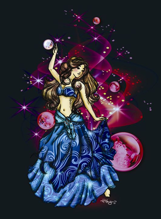 Celestial Dancer - Blue Bird Grafix