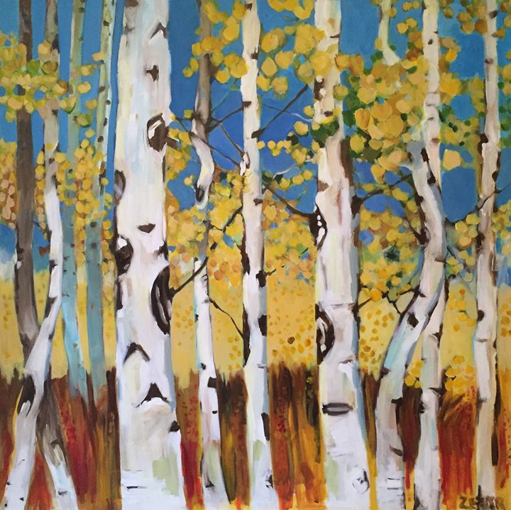 Aspen Trees - Littles Diamond Skool