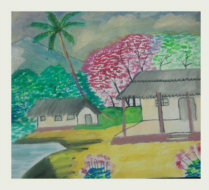 Peaceful atmosphere - My drawings