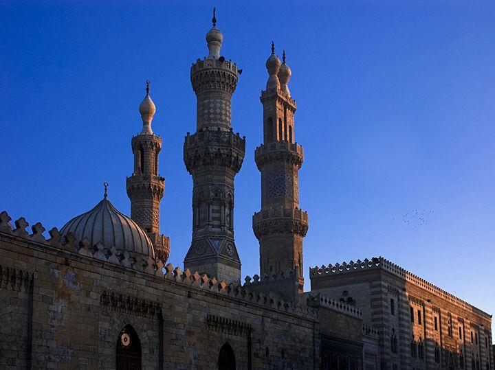 Al Azar Mosque - Cairo Egypt - Fleur De Lys