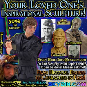 Your Sculpture Bust Custom Portrait - Artifacts Beyond Time