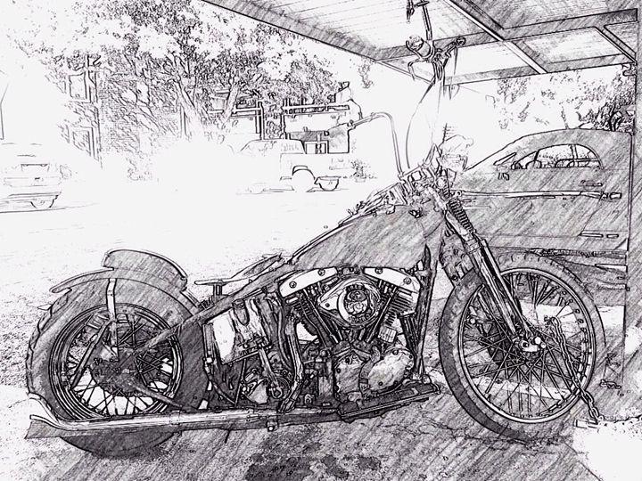 '69 Harley in '14 - Ryan William Delahunt