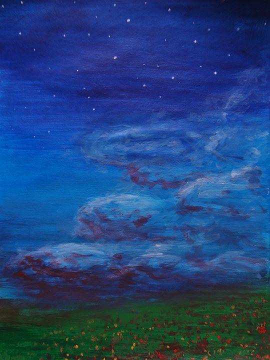 Cloudy night - Szandi Puskas