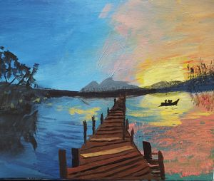 Sunset Lake--SOLD