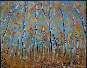 Birches---SOLD