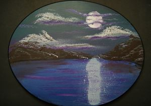 Night Swimming - Homemade Arts by Bill Ludwig
