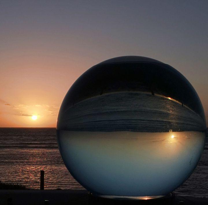 Sunset Orb - LynneE