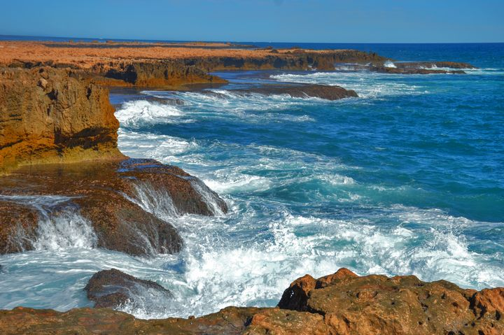 Waters on the Rocks - LynneE