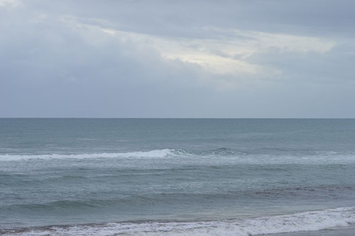 Grey Sky and Sea - LynneE