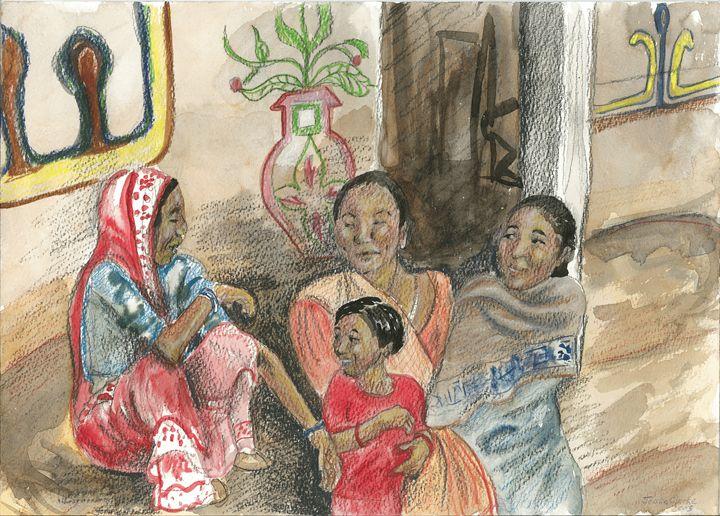 Women in Terai - Toad Hallow Studio