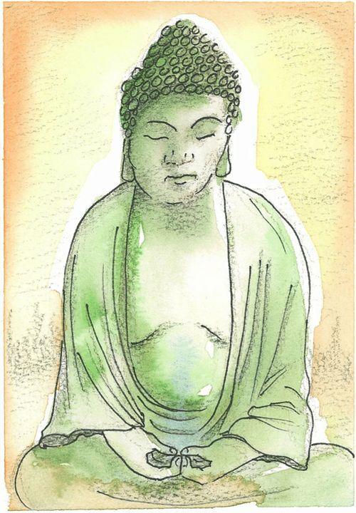 Green Buddha - Toad Hallow Studio