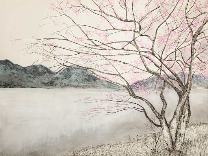 Cherry Blossom - Art by Tobin Eason