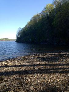 """Hudson River Shoreline"