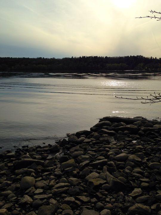 """Alongside the Hudson."" - Enchanted Art by Dayna Winters"