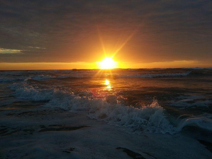 Tranquil Sunset Swakopmund - Rawkus Ruey