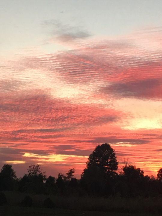 Orange sky - Cinderslanding