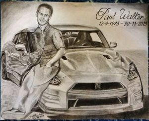 Paul Walker sketch