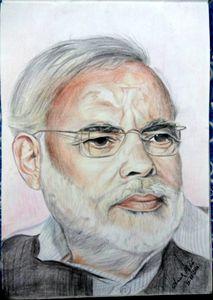 Narendra Modi art.