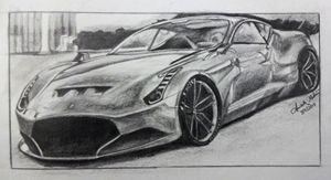 Ferrari sketch. - AM_Rtz