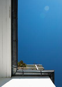 Calmness of Berlin sky