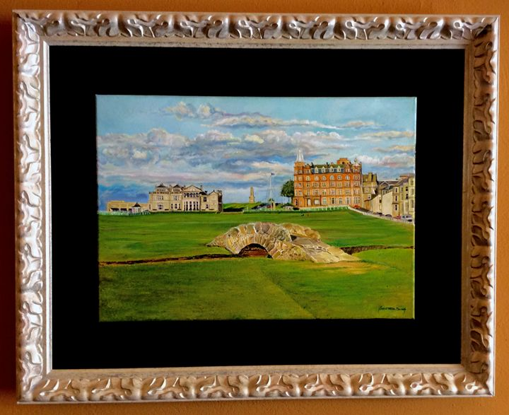 The cradle of golf, Saint Andrews - The Art of Golf