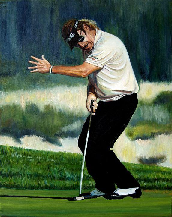 Emotions. Miguel Angel Jimenez - The Art of Golf