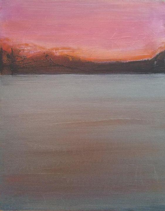 Pink Sky at Night - K Batson Art