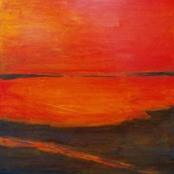 Indian Rocks Reminiscence - K Batson Art