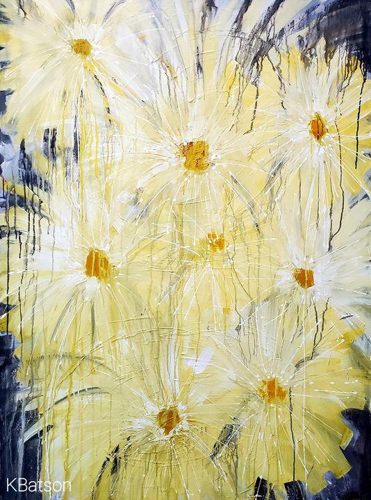Raining Daisies - K Batson Art