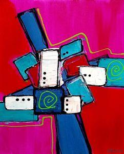 Tumbles - K Batson Art