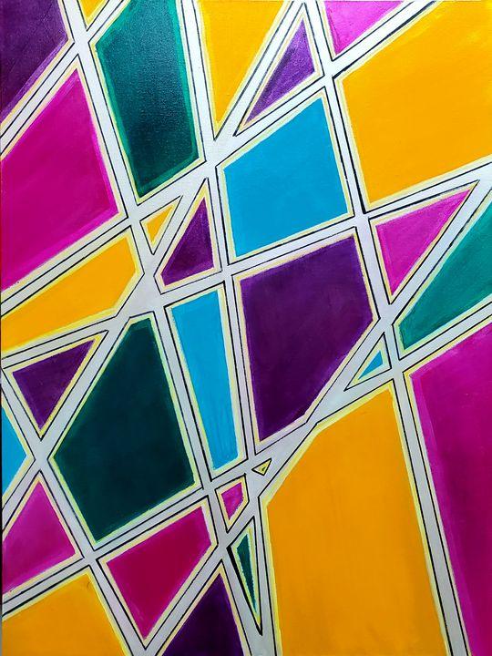 In the Grid II - K Batson Art