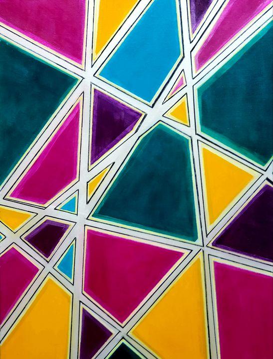 In the Grid I - K Batson Art