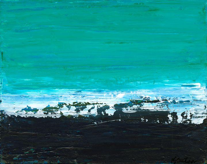 Black Beach - K Batson Art