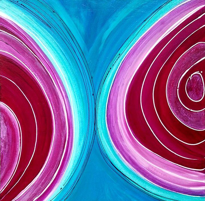 Bursting Bubbles - K Batson Art