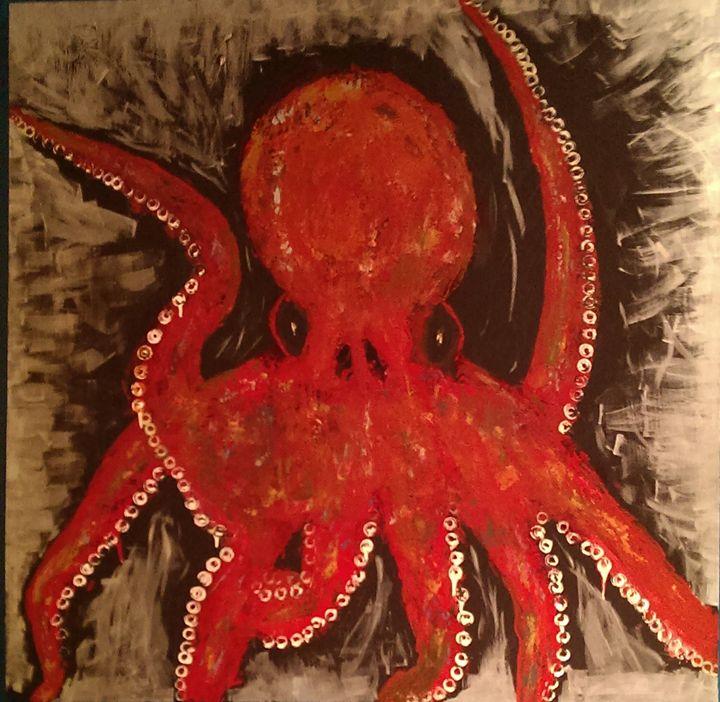 octopus - Daniel John Original Art