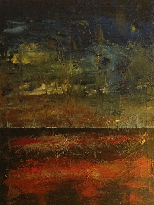 sunset at sea - Daniel John Original Art