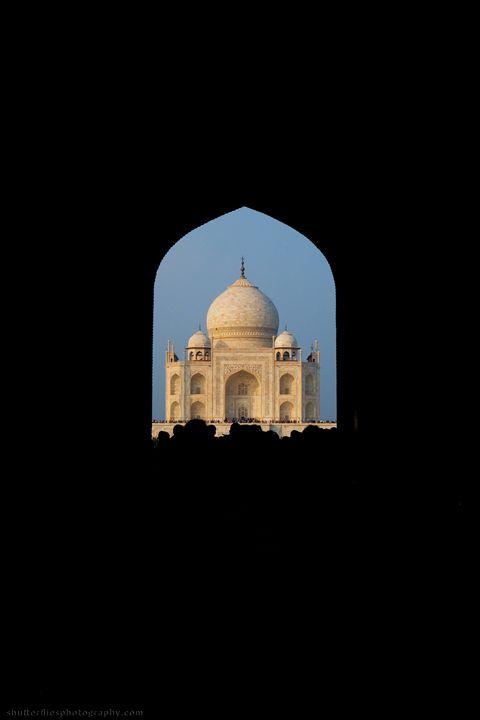 Taj Mahal Silhouette - ArtByLaurenBritz