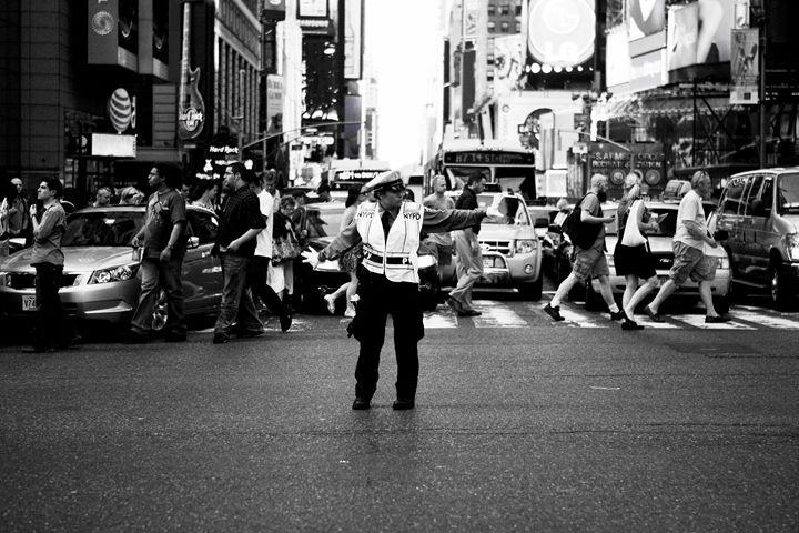 NYC Cops - ArtByLaurenBritz