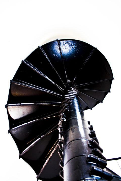 Lighthouse Staircase II - ArtByLaurenBritz