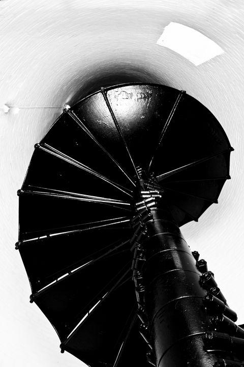 Lighthouse Staircase - ArtByLaurenBritz