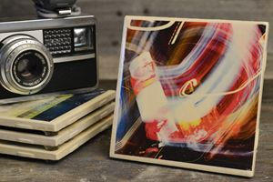 Light Trail Coasters - Set of 4