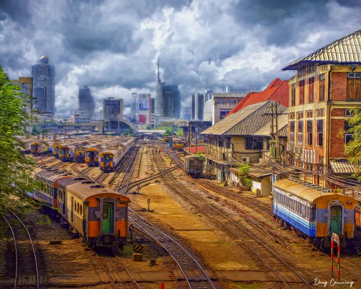 Train Yard - Doug Canning